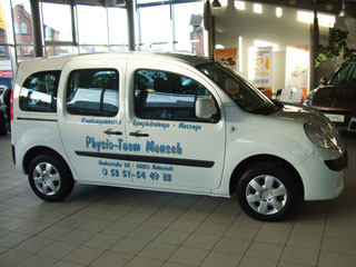 Fahrzeugbeschriftung Renault Kangoo