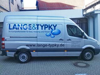 Fahrzeugbeschriftung Lange Typky