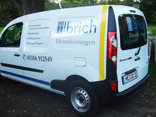 Fahrzeugbeschriftung Ulbrich